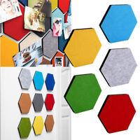 97BC Hexagon Felt Wall Sticker Mural Ornament Board Decorative Creative