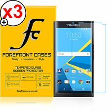 Forefront Cases® 9H HD Tempered Glass Screen Protector Blackberry Priv X 3