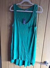 Brand New With Tags Peacocks Emerald Green Vest Top - Size 14