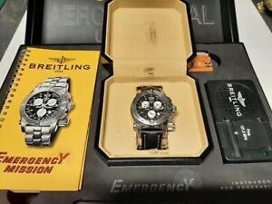 Breitling Emergency A73321 Fullset 2004