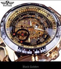 Top Luxury Brand Men's Watch Mechanical Skeleton Watch Montre Homme 2019 Winner