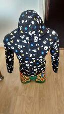 Nightmare Before Christmas Jack Pinstripe Sally Reversible Hoodie 2in1 small s