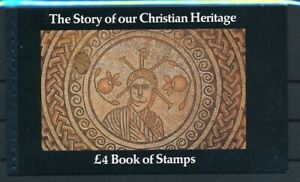 D196004 Great Britain Prestige Booklet MNH Christian Heritage Face £4