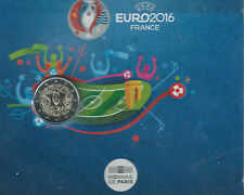 FRANKRIJK,  2  Euro Commemoratief  UEFA 2016  << COINCARD  >> 10.000.oplage.....