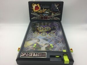 Electronic LCD Pinball Game Space Battle By Scientific Toys 1996 Rare Vtg Tested