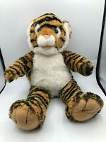 Build A Bear BAB Tiger Stripe Big Cat Plush Kids Soft Stuffed Toy Animal Teddy