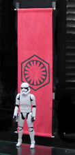 "24"" First Order Fabric Banner Flag for Hot Toys Star Wars Stormtroopers"
