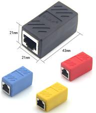RJ45 Female to Female Network Ethernet LAN Connector Adapter Coupler Extender