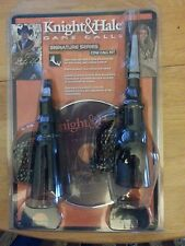 lot of 5 Knight & Hale Signature Series Cow Elk Call kit New