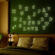 A7BC DIY Kinder Schlafzimmer Dekor PVC Wandaufkleber 26 Englische Buchstaben