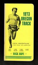 >orig.1973 STEVE PREFONTAINE Oregon Ducks Track/Baseball MEDIA GUIDE *DUCK DOPE*