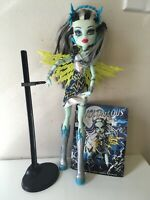 Monster High Power Ghouls Doll Frankie Stein as VOLTAGEOUS Target EXCLUSIVE EUC