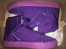 Creative Recreation Geno plum purple fashion sneakers sz 8.5