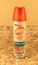 OFF! Family Care Smooth & Dry Insect Repellent 4 oz mosquito spray
