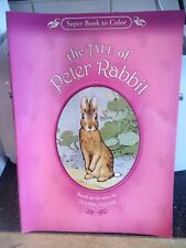 Beatrice Potter The Tale of Peter Rabbit Coloring Book Rare Edition Brand New