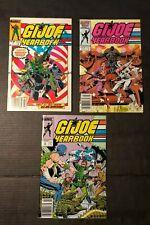 G I Joe Yearbook #2, 3 and 4 Set Marvel Comics