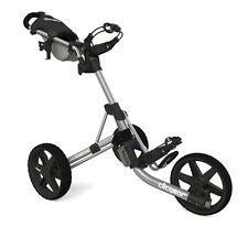 NEW CLICGEAR 3.5+ GOLF PUSHCART SILVER/BLACK (CGC354-SIL) *AUTHORIZED*