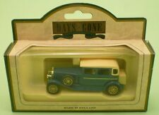 LLEDO Days Gone 54000 1929 ROLLS ROYCE D BACK BLUE die cast metal model MINT