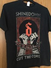 Shinedown - Tour 2015-16.  Black Shirt.  L.  Gildan.