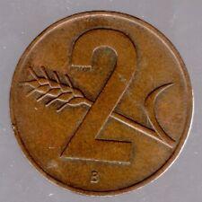 2 Rappen Schweiz 1963 B in gutem vorzüglich