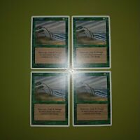 Hurricane x4 - Fourth Edition 4th - Magic the Gathering MTG 4x Playset