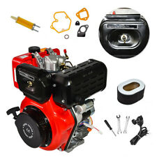 Hot 10hp 4 Stroke Air Cooled Single Cylinder Diesel Engine Us Shipping