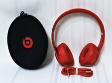 Beats by Dr. Dre Solo2 Headband On-Ear Headphones - Red