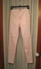 DIVIDED BY H&M NWT Pink Super Stretch JEGGING Leggings Jeans  Size 4