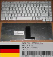 Clavier Qwertz Allemand TOSHIBA A200 A205 M200 M202 M203 KFRSBB126A Gris/Silver