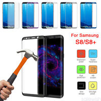 For Samsung Galaxy S8 S8 Plus Temper Glass 3D Full Cover Curved Screen Protector