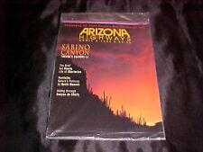 ARIZONA AZ HIGHWAYS TRAVEL MAGAZINE NEW SEALED APRIL 1993 GRAND CANYON HIKING