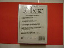 EARTH SCIENCE: Teaching Resources