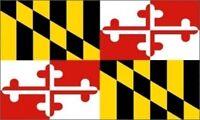 3'x5' Maryland State Flag USA Outdoor Indoor Banner Heraldic George Calvert 3x5