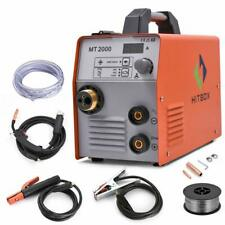HITBOX Welder 220V 200A Inverter MIG ARC Lift TIG Gas Gasless Welding Machine