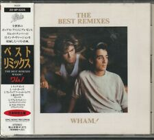 Wham The Best Remixes Japan Cd w/obi 20 8P-5225