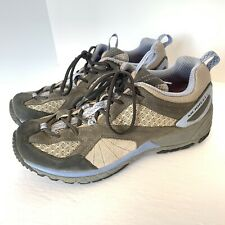 Womens MERRELL Dark Shadow VIBRAM Trail Running Shoes US 8 Gray Blue