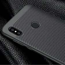 Ultra Thin Slim Mesh Hard PC Back Case Cover For Huawei Y9 2019 Y7 2018 P20 Lite