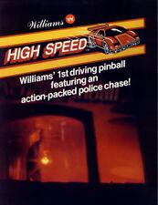 High Speed Pinball - CPU Rom Set L-4 [U26, U27] [Williams] EPROM