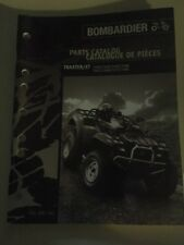 Can Am Traxter XT Parts Catalog Manual Bombardier