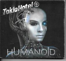 CD DIGIPACK ALBUM 16 TITRES + DVD--TOKIO HOTEL--HUMANOID--2009
