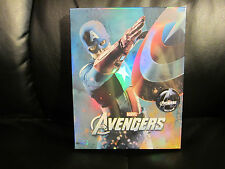 Avengers [NovaMedia] 3D/2D Blu-Ray Steelbook Full Slip B Cap Black Widow Sealed