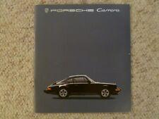 1985 Porsche 911 Carrera DELUXE Showroom Advertising Sales Brochure RARE!! L@@K