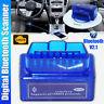 UK ELM 327 Bluetooth V2.1 OBD2 OBDII Car Diagnostic Auto Scanner Code Reader