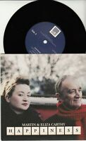 "MARTIN & ELIZA CARTHY Happiness 2014 UK limited vinyl 7"" Topic NEW/UNPLAYED"