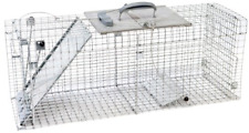 Havahart 1092 Collapsible One-Door Easy Set Live Animal Cage Trap for Raccoon.