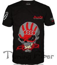 Audi T-shirt Motorsport S line Audi RS Allroad Punisher Skull