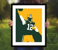 AARON RODGERS Green Bay Packers Photo Art 8x10 or 11x14 Football Picture Print