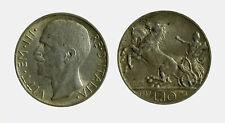 220) Vittorio Emanuele III  (1901-1943) 10 Lire Biga 1927 **
