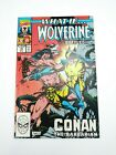 What If #16 Marvel 1990 Wolverine Battled Conan The Barbarian NM High Grade