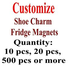 Custom Make Shoe Logo Cartoon Shoe Charms Keychains Fridge Magnets Pin Badge etc